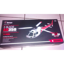 Helicóptero 6 Canais Brushless -v931 As350 Esquilo - Rtf