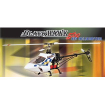 Helicoptero 6 Ch Canais Helipro Black Hawk 500 Ep/gp 74cm 3d