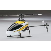 Helicóptero Heli-max Axe 100 Cp Amarelo 6ch 2.4ghz Rtf Hmxe0