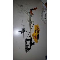 Helicóptero Honey Bee King 2 Rotor Cauda Pá Peças Chassi