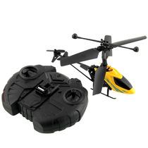 Mini Helicóptero Original Com Controle Remoto