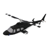 Maquete De Papel 3d - Helicoptero