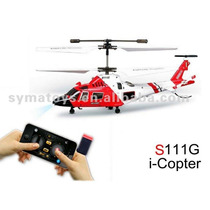 3ch Syma I-copter S111g Rc Mini Iphone Android Gyro Usb
