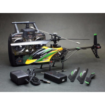 Helicoptero V912 2.4ghz 4 Canais Wltoys Helimodelismo Comple