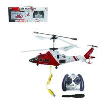Helicóptero Falcão 3 Canais Controle Remoto Art Brink
