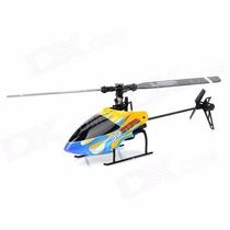Helicoptero 3d 6ch 2,4ghz Completo *novo* Li-po