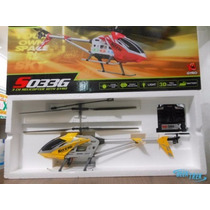 Helicóptero Syma S033g 3.5ch 78cm 3d Gyro Luz Led