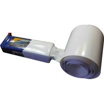 Tubo Termo-retrátil Pvc 66mm(chato)-diametro42.6mm -branco