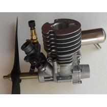Motor Glow Toki 15 Rc Aeromodelo Combustão Nitro Kit Complt
