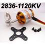 Motor Rc Timer 2836/7 1120kv 336w + Spinner + Montante