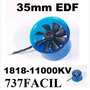 Turbina Edf Fan 35 Mm Com Motor Hl3508 1818-11000kv -mystery