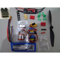Combo Asa Zagi Completo / Bateria Lipo 2200 / Turnigy D2826