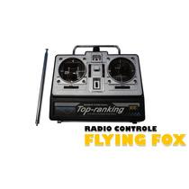 Radio Controle Fm + Antena Para Flying Fox