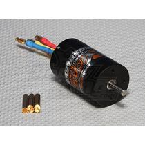 Motor Brushless Hobbyking S3660-2670 2670kv C/ Refrigeração