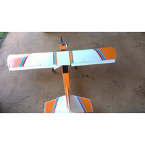 Aeromodelo Combustão Motor 52 Completo Com Radio( Pastinha)
