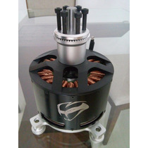 Motor Elétrico Brushless Serie120 80kv 18kw Ou 25cv 70v