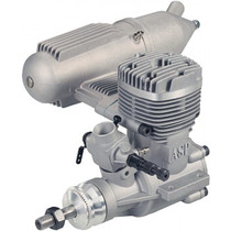 Motor Asp 61 2 Tempos Glow S61a Rolamentado - Pronta Entrega