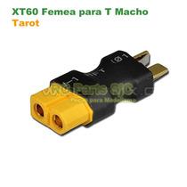 Tarot Conector Plug Adaptador Xt60 Fêmea Para Dean T Macho