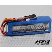 Lipo Bateria Rádio Turnigy 2650mah 3s 1c Llf Tx (futaba/jr)