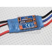 Eletronic Speed Control Esc 30a Hobby King Bec De 5v - 3amp