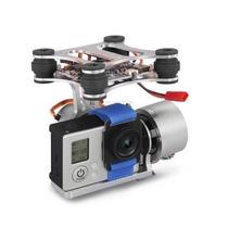 Fpv 2 Axis Brushless Gimbal Controlador Quadricoptero F450