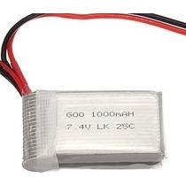 Bateria 1000mah 2s 20c 7.4v V912 Mjx F46 Pronta Entrega