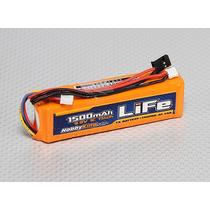 Bateria P/ Radio Futaba Jr Turnigy Spektrum 1500mah 3s Life