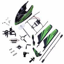 Kit Completo Peças Reposição Helicóptero Wltoys V911 Motor