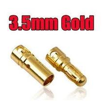 Conector Bullet 3.5mm Par Fpv Motor Dji Esc 30a 40a 50a 60a