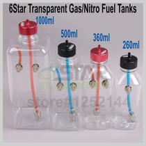 Tanque 360ml Gasolina Aeromodelo Motor Rcgf 30cc Dle Dla Os