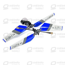 #6020-mt/bl - Kit Do Rotor Principal Com Helices (azul)