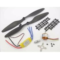 Motor 2212 1000kv Com Esc 35amp E Helice Para Avião E Drone