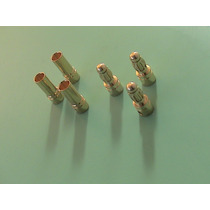 3 Pares Plug Conector 3.5mm (gold Bullet) P/ Motor Brushless