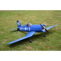 F4u Corsair-com Rodas,canopy,adesivos E Piloto-kit P/ Montar