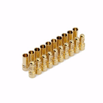 Conector Banana Gold Bullet 3,5 Mm - Frete 7,00