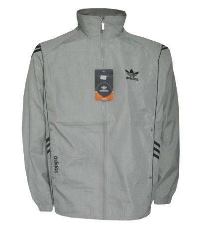 Agasalho Adidas Cinza