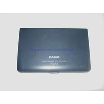 Agenda Casio Data Bank Dc-7500a 500 - Usada E Funcionando