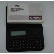 Agenda Eletrônica Casio Dc-200