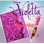 Violetta Disney Pack - Diario + Caneta 8 Cores+ Stickers!!!!