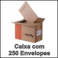 250 Envelopes Pardos Saco Kraft Skn34 240x340mm 80g