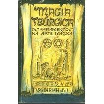 Livro Magia Teúrgica Vasariah