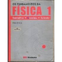 Livro Os Fundamentos Da Física 1 Ramalho Nicolau Toledo