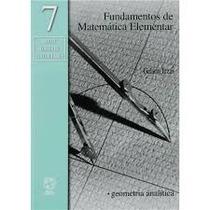 Livro Fundamentos De Matemática Elementar Gelson Iezzi