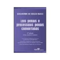 Livro Leis Penais E Processuais Penais Comentadas Guilherme