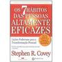 Livro Os 7 Hábitos Das Pessoas Altamente Eficazes Covey