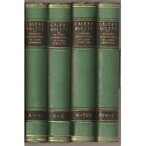 Livro Dicionário Contemporâneo Da Língua Portuguesa 4.vols