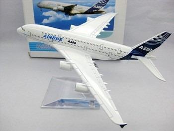 Airbus A380 Miniatura 14x16cm