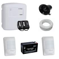 Sistema De Alarme Residencial Ecp Com 2 Sensores De Presença
