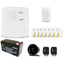 Kit Alarme Residencial Casa Comercial Ecp Alard Max4 Sem Fio