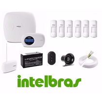 Kit Alarme Monitorada Intelbras Amt 2018e Com 6 Sensores Pet